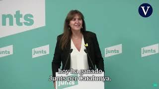 Laura Borràs será la candidata efectiva de JxCat en las elecciones catalanas