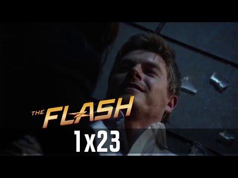 The Flash 1x23 - Eddie Kills Himself & Destroys Eobard Thawne