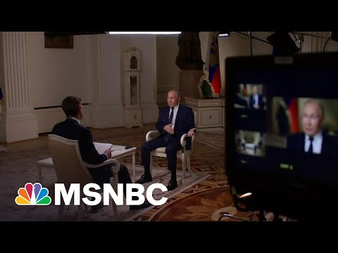 Vladimir Putin On Arms Control Talks With The United States   MSNBC