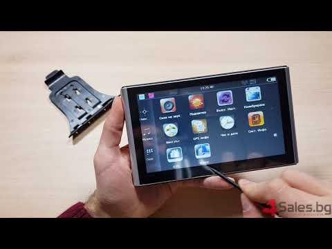Нова 7-инчова GPS навигация с 256 м/8 GB CPU800M + FM + Език + карти 10