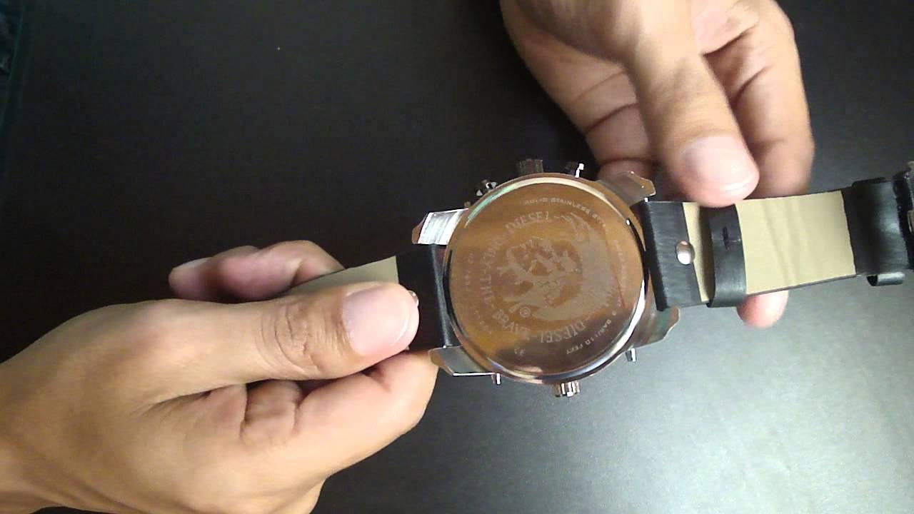 9cb38a39fcef8 Relógio Diesel IDZ7234 Masculino - YouTube
