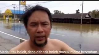 Luahan hati Bikers Kental yang ke Phuket, Thailand mengharungi laluan banjir...