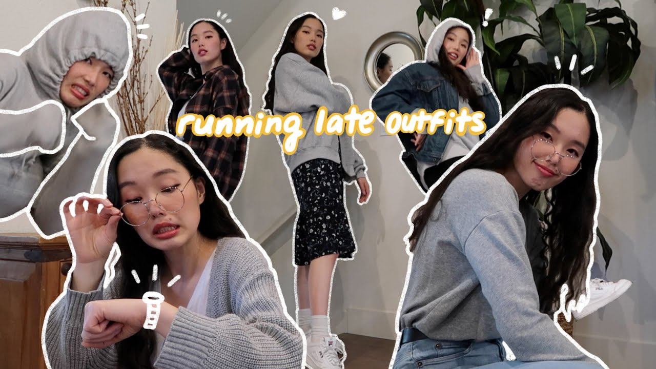 [VIDEO] - 10 simple outfits for when ur a mess and ur running late | autumn outfits 2