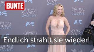 Hayden Panettiere - Strahlend zurück auf dem Teppich nach Baby-Depression - BUNTE TV