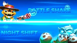 Skylanders Swap Force PVP - Rattle Shake VS Night Shift