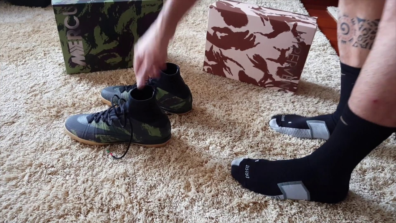 buy popular uk cheap sale discount shop Nike Camo Pack MercurialX Proximo Se IC review + On Feet HD