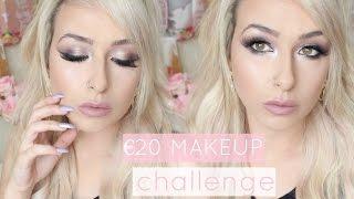 €20/$20/£20 MAKEUP CHALLENGE