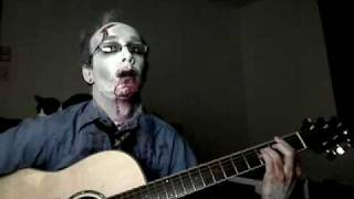 re your brains jonathan coulton zombie cover