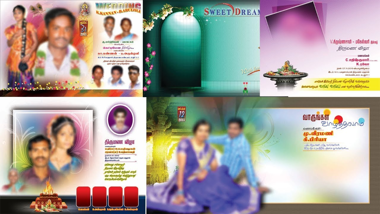 Wedding Banner Psd Free Download Youtube