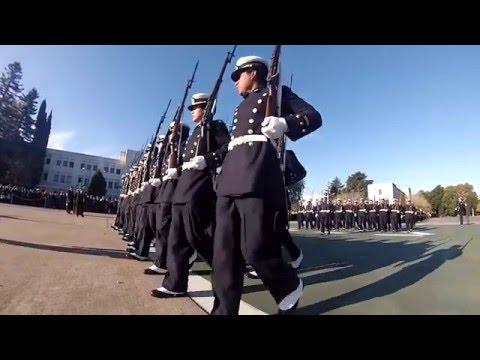 Entrega de uniformes, diplomas y couteaux a cadetes de 1º año
