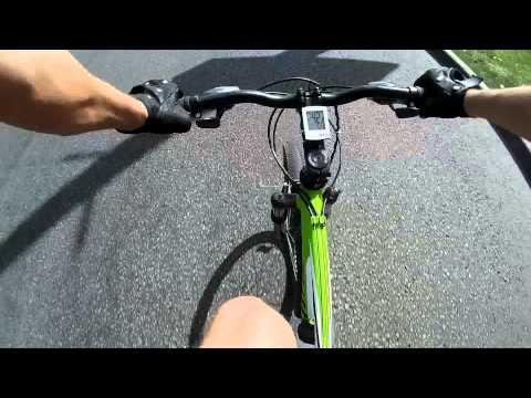 Рекорд скорости на велосипеде по прямой от Andrew NLO