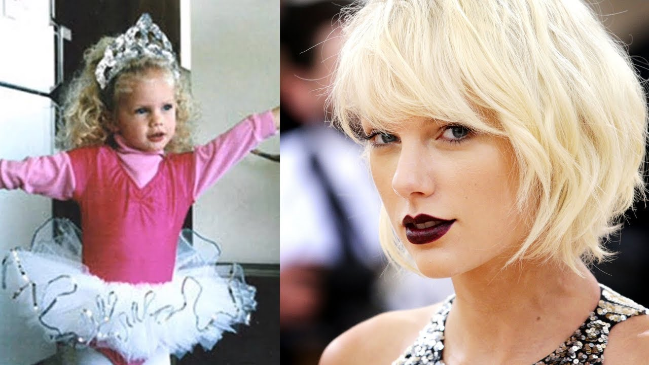 Taylor Swift transformation 2018   From 2 to 29 !!! - YouTube