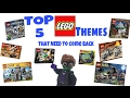 TOP 5 Lego Themes That NEED To Come Back