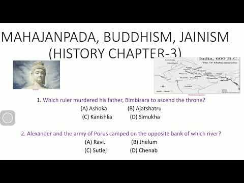 MAHAJANPADA, BUDDHISM, JAINISM  IN BENGALI | HISTORY CHAPTER-3