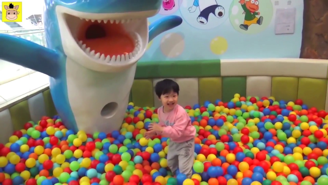 Indoor Playground Learn Colors Rainbow Family Kids Fun For