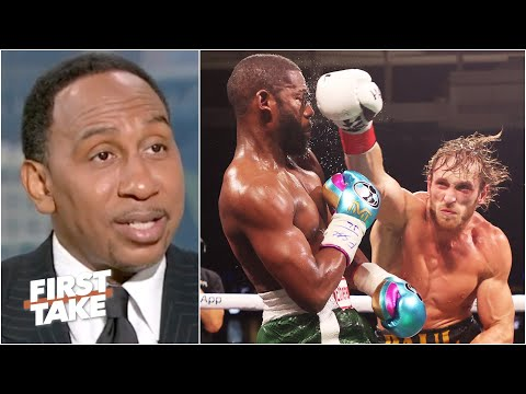 Stephen A. and Max react to Floyd Mayweather vs. Logan Paul   First Take