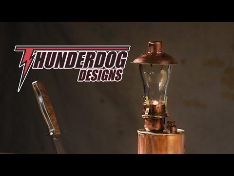 Handmade Decorative Metal Copper and Brass Lantern