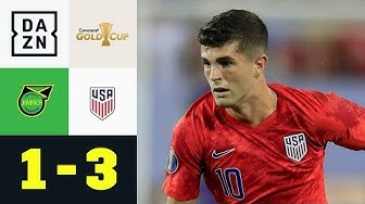 Christian Pulisic schießt Soccer Boys mit Doppelpack ins Finale: Jamaika - USA 1:3 | Gold Cup | DAZN