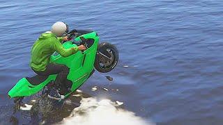 IMPOSSIBLE BIKE RACE! (GTA 5 Funny Moments)
