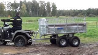 23-TV15ATV Tippvagn ATV 1,5 ton