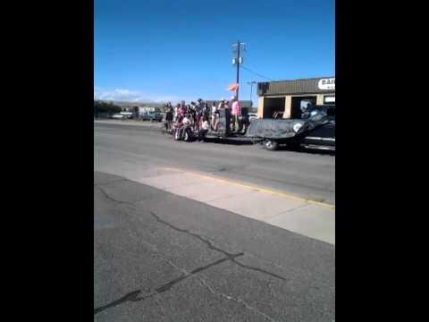Lander Valley High School Homecoming Parade