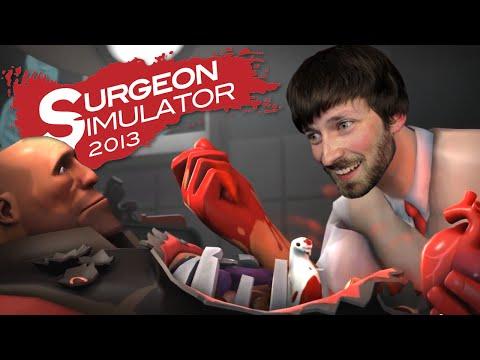 UBERCHARGED HEART - Team Fortress 2 Heart Transplant - Surgeon Simulator 2013 #4  