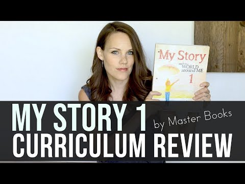 My Story 1 Review (Look Inside The New Master Books Social Studies Homeschool Curriculum)