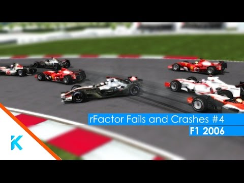 rFactor Fails and Crashes #4 (F1 2006)