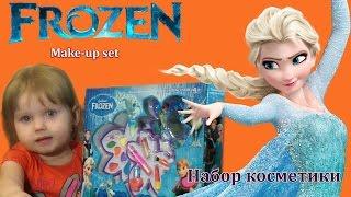 Набір дитячої косметики Frozen Холодне Серце make up set Робимо Макіяж
