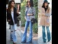 The best flared and wide leg jeans outfits for 2017