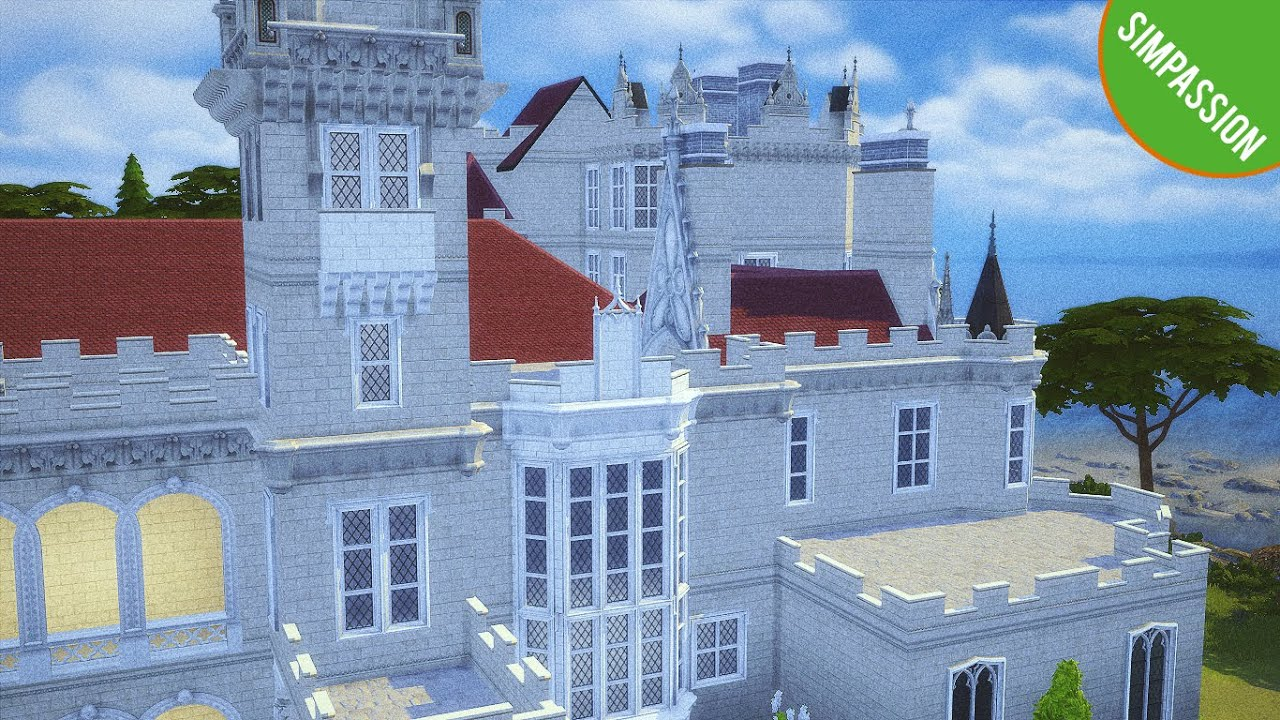 Casa Loma Castle│Interior│Speed Build│The Sims 4 ...