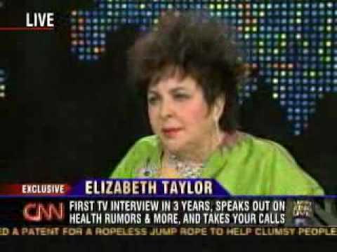 Elizabeth Taylor talks about Michael Jackson on Larry King