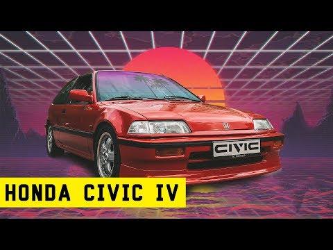 Honda Civic IV. Пушка-гонка после полного восстановления.
