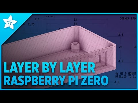 Layer by Layer - Designing Raspberry Pi Zero 3D Printed Enclosure