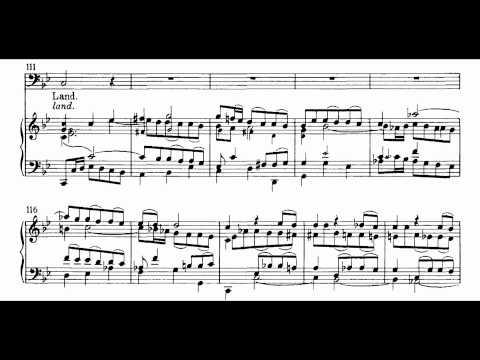 Bach BWV 56-1 Ich will den Kreuzstab gerne tragen