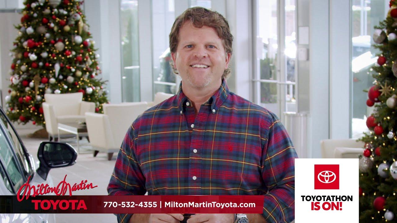 Toyotathon Is On at Milton Martin Toyota