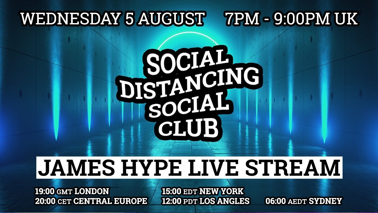 James Hype - Live Stream #stayhome #withme 05/08/20