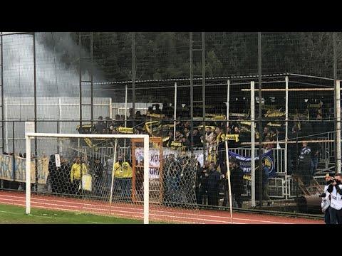 Bld Derincespor -Ağrıspor maçının 41. dakikası Ağrıspor tribünü Hodrimeydan sesleri .. | 41 Kocaeli