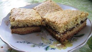 Песочный Пирог с Вареньем без Яиц (Quick Pie)