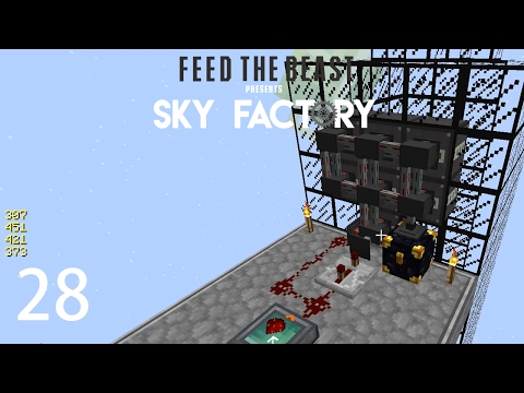 Sky Factory 3 w/ xB - AUTOMATIC NETHER...