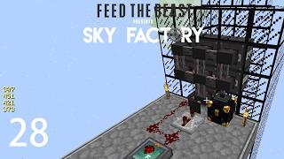 Sky Factory 3 w/ xB - AUTOMATIC NETHER STARS [E28] (Minecraft Modded Sky Block)
