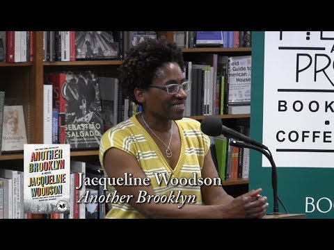 """Jacqueline Woodson,  """"Another Brooklyn"""""""