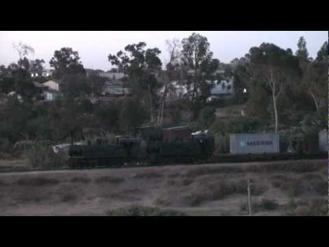 Eritrea - First Freight for 38 years, Double Headed