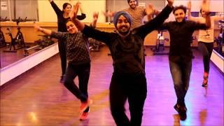 Akh Teri   Girlfriend   Babbal Rai  Bhangra Dance Steps  Sona Dance Studio