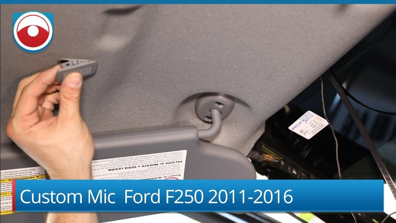 Custom Microphone Ford F250 2001-2016
