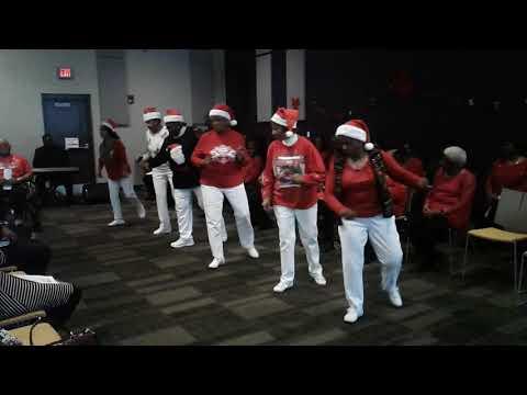 Fairfield  Swinging Seniors @Bessemer Community Center's Silver Boomers 2017 Christmas Program