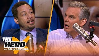 Chris Broussard & Colin disagree on Westbrook being iconic, talks Doc-Lakers rumors | NBA | THE HERD