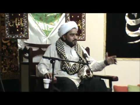 Mohammad Asghar Yazdani @ Azakhana-e-Zahra,Dublin-8th Majlis of Ashra-e-Arbayeen