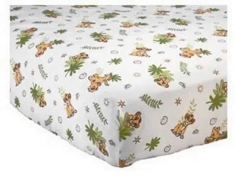 Details Disney   Lion King Simba 3 Piece Crib Bedding Set Best