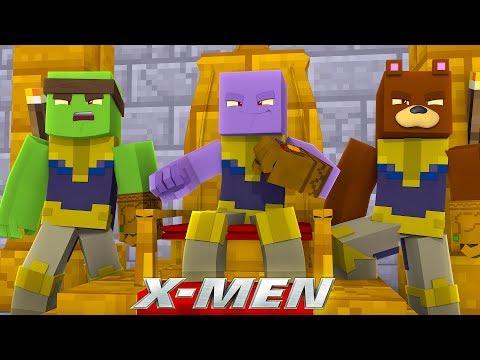 WE ARE THE CHILDREN OF THANOS!!! w/Tiny Turtle - Minecraft X-Men